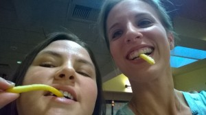 Got Fries?  Why yes, we do. 2014 Scavenger Hunt.